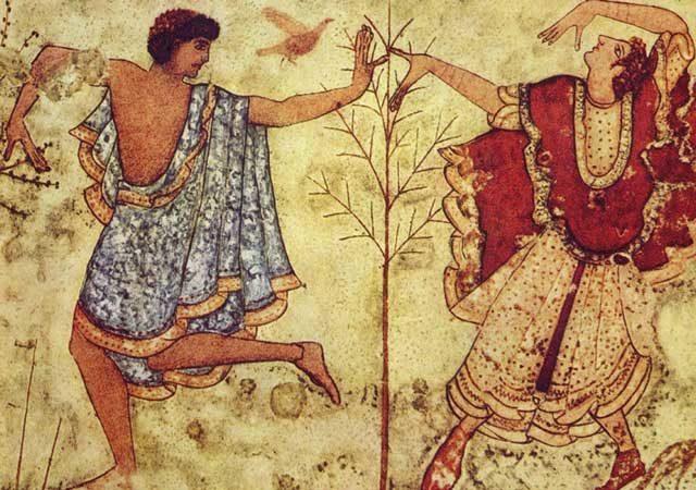 Gli Etruschi e le loro abitudini a tavola