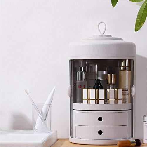 organizer girevole per cosmetici
